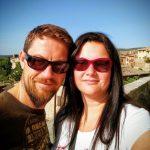 Melanie & Jürgen, San Gimignano, Italien