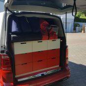T6 mit Ikea Schrank